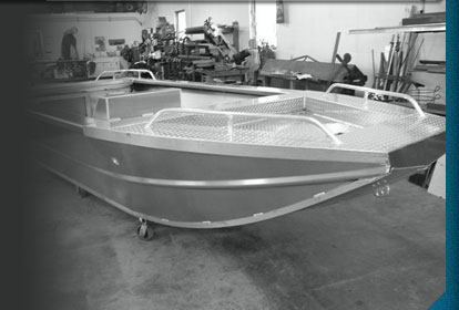 H2O has fabricated numerous aluminium Jet Boats utilizing our state of the art Flow Abrasive Waterjet machine to steamline the manufactoring process of producing multiple boats in a timley and efficient process